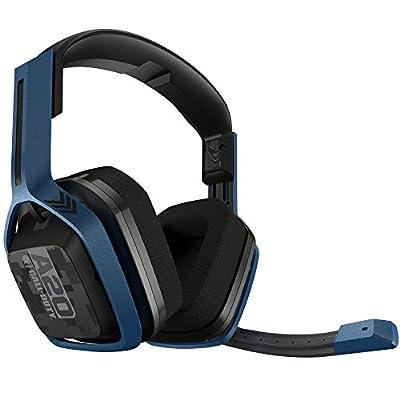 ASTRO A20 Wireless Headset, Black/Blue