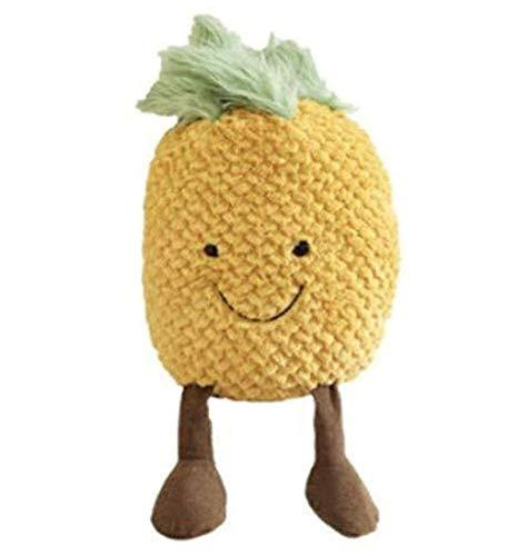 Pluche pop kleine ananas knuffel schattige pop pop Fruit verjaardag meisje hart cadeau