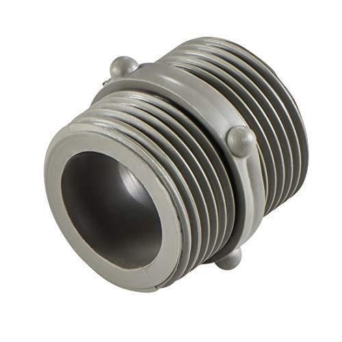 Xavax Verbindungsstück für Wasch- und Spülmaschinen-Zulaufschläuche, Zulaufschlauchverbinder