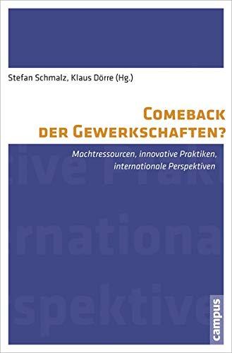 Comeback der Gewerkschaften?: Machtressourcen, innovative Praktiken, internationale Perspektiven (Labour Studies, 5)