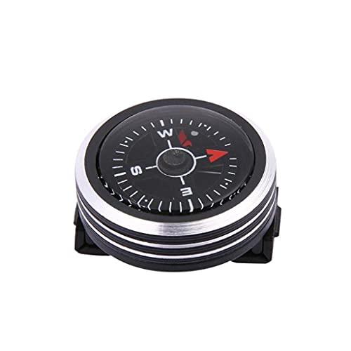 GYZX Mini Brújula De Botón De Correa De Reloj Portátil para Pulsera Senderismo Al Aire Libre Camping Herramientas Al Aire Libre