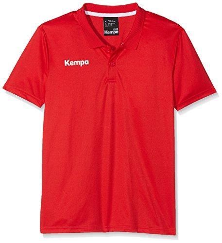 Kempa Herren Poly Polo Shirt, Rot (rot), Gr. S