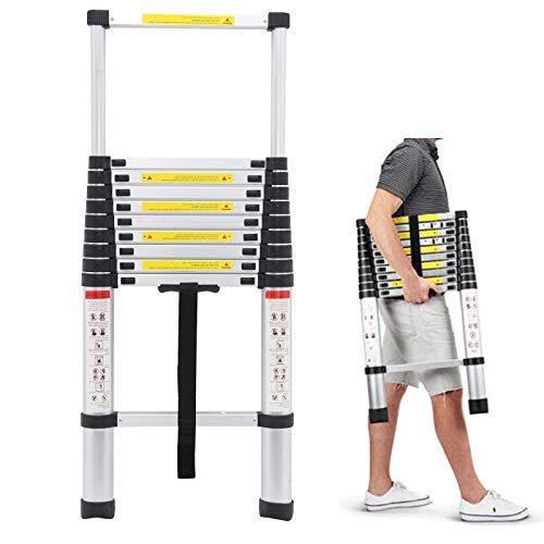 3.2M Telescopic Multi Purpose Ladder Portable Aluminium 10.5 Ft Light...