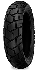 Versatile tread pattern provides excellent wet and dry weather adhesion and smooth running on the highway Rubber compound resists tearing during off road use DOT approved, 4 ply rated All sizes designed for front or rear fitment unless noted The use ...
