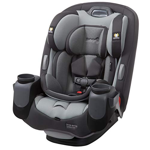 Safety 1st Grow & Go Comfort Cool 3-in-1 Convertible Car Seat, Pebble Path, One Size