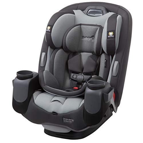 Safety 1st Auto Asiento Grow and Go Comfort Cool 3 en 1, color Gris, paquete de 1