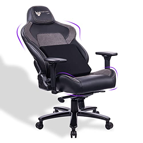 FANTASYLAB Big and Tall Gaming Chair for Big Guys, Gamer Chair Adults Office Gaming Chair 400 lb Weight Capacity Rocking Chair 160°Recliner Chair Ergonomic Computer PC Chair with 4D Armrest High Back
