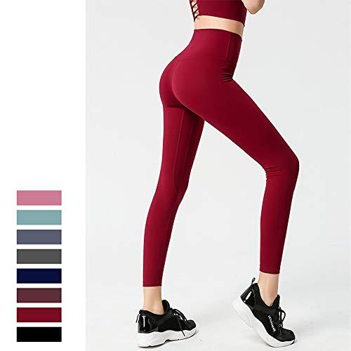 Vrouwen hoge taille buik controle yoga legging voor vrouwen training hardlopen broek scrunch butt tillen training sport fitness,H,M
