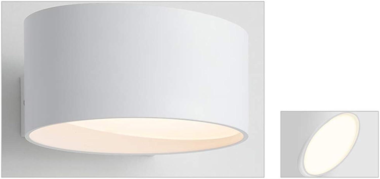 BEI-YI Led Wandleuchte Wohnzimmer Nachttischlampe Zimmer Flur Gang Licht Einfache Kreative Wandleuchte Dritter Gang Dimmen 10 Watt