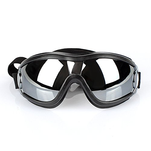 The Road Out (New 2020)- Adjustable Dog Goggles, Doggles, Fun Doggie Goggles for Medium to Large Breeds, Doggle Blocks Dog Allergies + Wind, Stylish, Great for Sun, Park, Truck, Boat, or Motorcycle