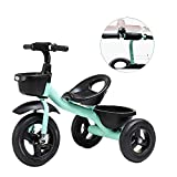 GCXLFJ Dreirad FüR Kinder Ab 1 Trikes-Blau Kinderdreiräder for Ages 2-6,Kinder mit verstellbarem...