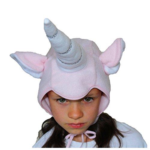 Krause & Sohn-Gorro Infantil Unicornio Rosa Cuento Unicorn Tocado Carnaval