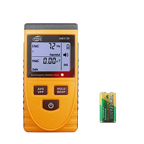 KETOTEK EMF Meter Elektromagnetische Strahlung Messgerät Detektor Messer Digital Elektrische Felder Magnetfeld Messgerät LCD Magnetfeldtester GM3120
