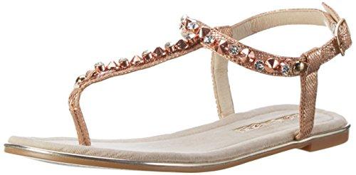 Buffalo Shoes Damen 14BU0155-6 PU Zehentrenner, Mehrfarbig (Rose 23), 40 EU