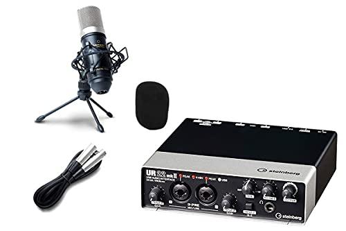 steinberg UR22mkII オーディオインターフェイス UR22Mk2 配信 録音セット