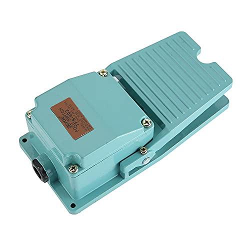 FS-402 pedal interruptor control 15A industrial antideslizante aluminio liso AC250V