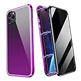 ZHIKE Compatible Hülle iPhone 11 Pro Max, Anti Peeping Magnetic Doppelseitige Privatsphäre...