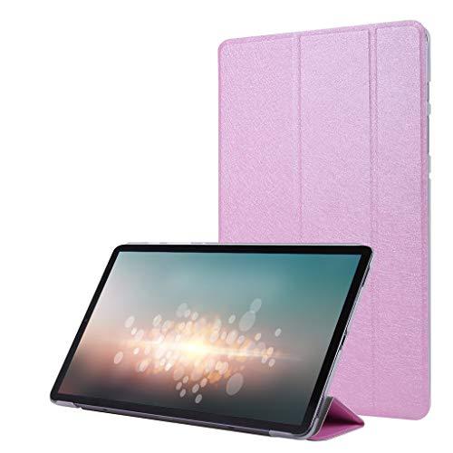 Gugavivid Tablet-Hülle Kompatibel mit Samsung Galaxy Tab S6 10,5 Zoll T860 Smart Case Slim Shell Stehende Abdeckung (Rosa)