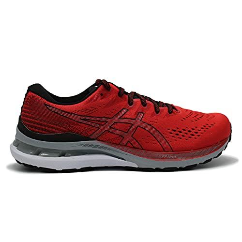 ASICS Gel-Kayano 28, Zapatillas de Running Hombre, Electric Red Black, 44 EU