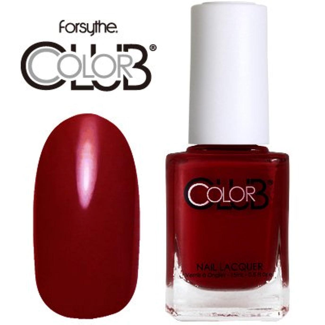 リフトレベルベイビーフォーサイス カラークラブ 920/Red-ical Gypsy 【forsythe COLOR CLUB】【ネイルラッカー】【マニキュア】