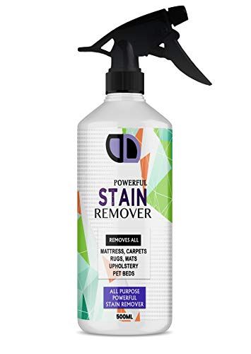 Stain & Spot Remover Urine Blood Pet Faeces Bed Wee Carpet, Mattress Cleaner 500ml Trigger Spray