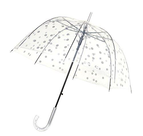 SMATI paraplu doorzichtig transparant met automatische paraplu