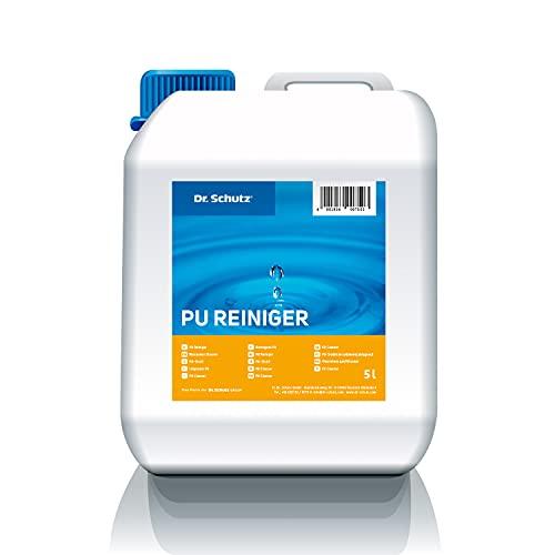 Dr. Schutz PU Reiniger 5 L | Bodenreiniger für Hartböden, Designböden | Hartbodenreiniger für Vinyl, PVC, Linoleum Boden | Vinylboden Reiniger | PVC Reiniger