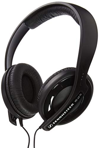 Sennheiser - Auriculares de diadema cerrados (control remoto integrado, SD, color negro)