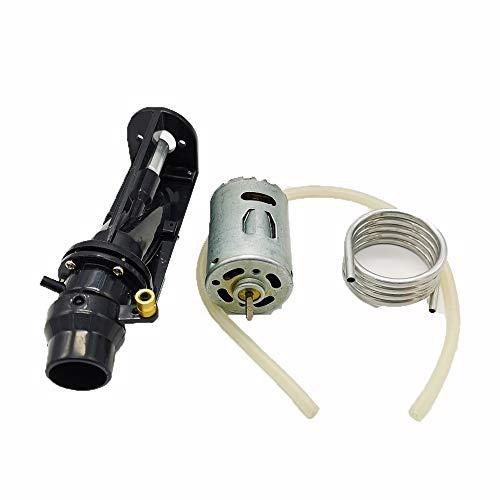 ACHICOO 380 Motor 6–12 V Pumpe Spray Thruster Wasser Turbo Power Servo Jet für RC Boot Zubehör Schwarze Pumpe
