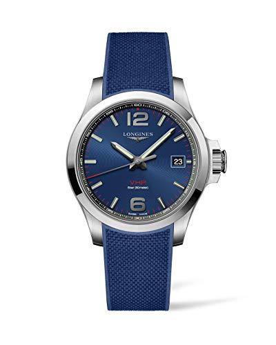 Longines Conquest VHP Reloj de hombre con esfera azul L37164969