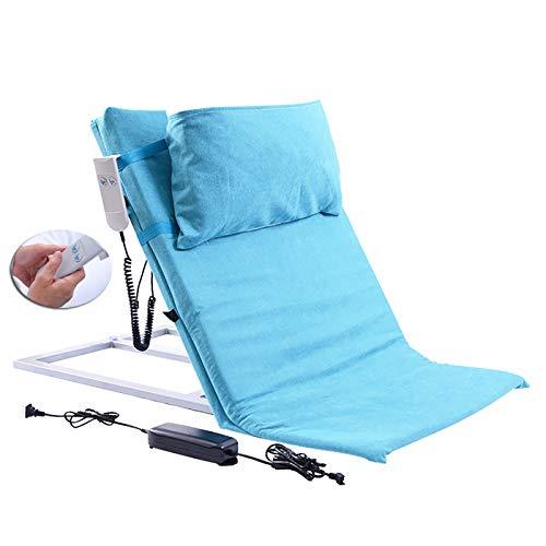 SUN RNPP Levantador de Almohada médico Ajustable, Respaldo de la Cama Respaldo eléctrico Ajustable para Sentarse y reposacabezas extraíble para la Cabeza del Cuello Soporte Lumbar Cuña de la Cama