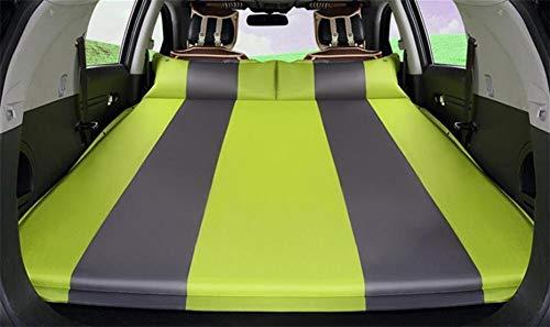 QARYYQ Luchtbed voor auto, luchtbed voor buiten reizen, matras voor auto, kofferbak, reisbed, matras voor achterslap, multifunctioneel luchtbed