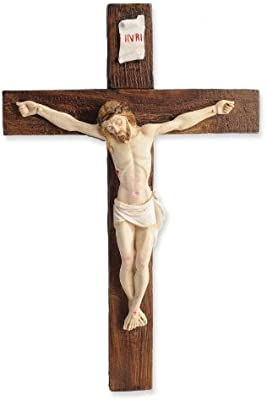 Vatican Observatory Foundation from Gregg Enesco Crucifix Wall Decor, 11-1/4-Inch