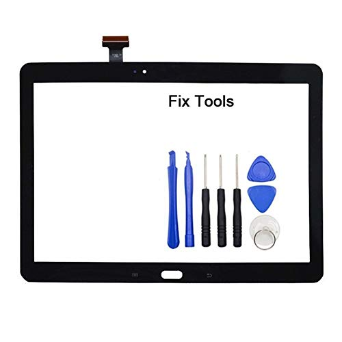 Screen Replacement kit 1Pcs Fit for Samsung Galaxy Note 10.1 2014 Edition P600 P601 P605 P607 Touch Screen Digitizer LCD Outer Front Glass Sensor+Tools Repair kit Replacement Screen