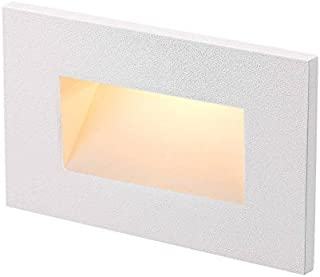 RP LIGHTING 8919 LED Mini Outdoor and Indoor Step/Stair Light (White)