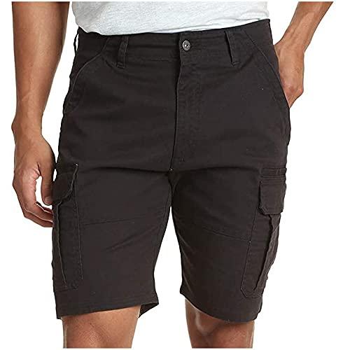 N\P Bolsillo cremallera hombres herramientas pantalones cortos cintura resistencia ocio tiempo libre oficina