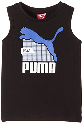 PUMA - Fitness-Achselshirts für Jungen in Black, Größe 128