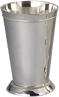 Elegance Silver Beaded Mint Julep Cup, 6 by