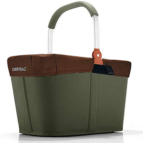 reisenthel Angebot Einkaufskorb carrybag Plus passendes Cover Sichtschutz Abdeckung (urban Forest)