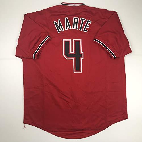 Unsigned Ketel Marte Arizona Red Custom Stitched Baseball Jersey Size Men's XL New No Brands/Logos
