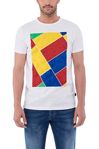 Salsa Camiseta Estampada con Lego Colorido