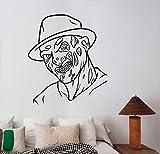 EricauBird Freddy Krueger calcomanía de pared extraíble vinilo adhesivo A Nightmare on Elm treet...