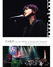 """ZARD LIVE 2004""""What a beautiful moment""""[30th Anniversary Year Special Edition] [Blu-ray]"""
