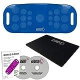 Shaping Board inkl. 28 Tage Challenge, Schritt für Schritt zum Wohlfühl-Körper- inkl. spezieller Unterlage - Blau