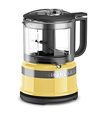 KitchenAid 3.5-Cup Mini Food Processor | Majestic Yellow (Renewed)