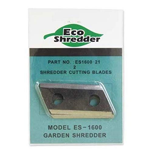 Review Eco-Shredder ES1600-21 Replacement Double Sided Cutting Blades for ES1600 Chipper/Shredder