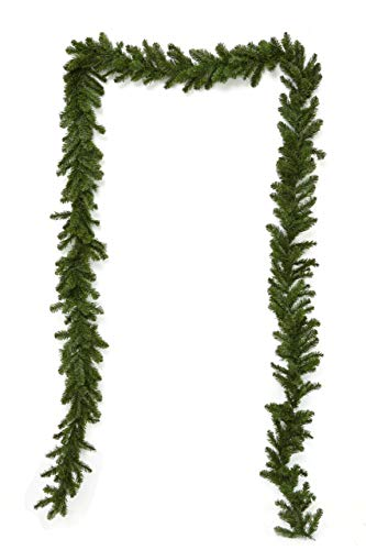 HEITMANN DECO Artificial Christmas Tree Garland – Long Green Decorative Garland Approx. 500 cm – Christmas Garland