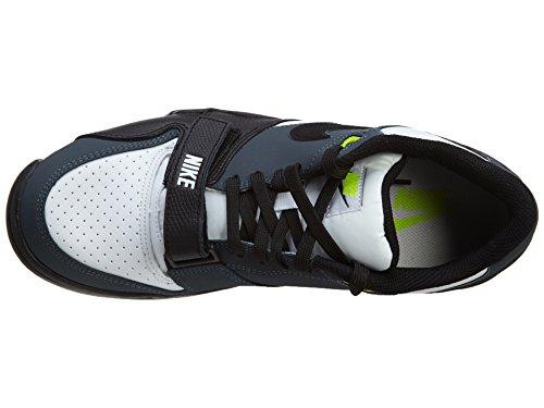 NIKE Air Trainer 1 Low St Men Sneakers Black/Wolf Grey/Laser Crimson 637995-001