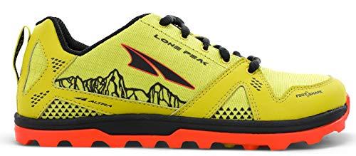 ALTRA AL0A4PE3 Youth Lone Peak Trail Running Shoe, Lime - 6...