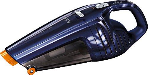 AEG HX6-27BM Aspiradora de Mano Sin Cable Sin Bolsa, Cepillo Extensible XL, hasta 27 Minutos, 78dB de Ruido, 2 Velocidades, Ciclónica, Depósito 0.5L, Azul Metalizada
